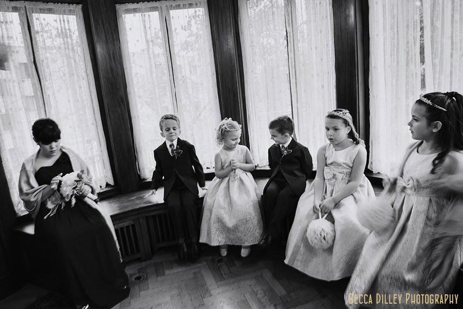 kids at wedding minneapolis wedding at gale mansion