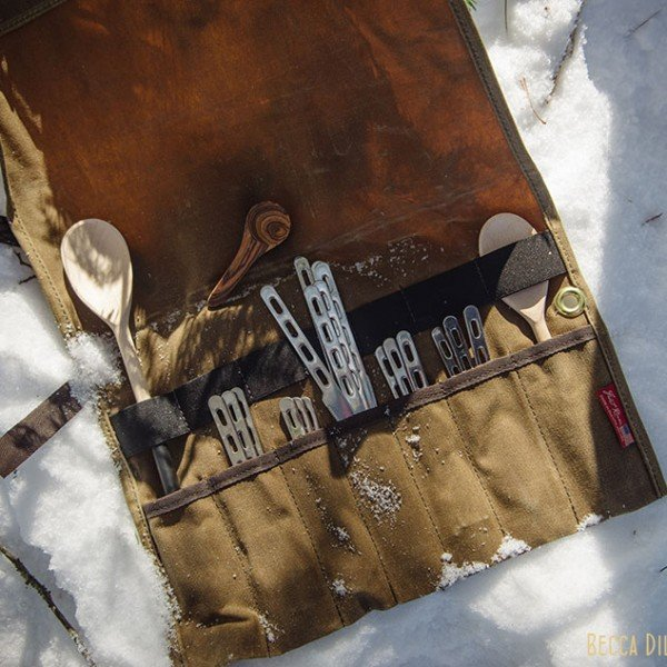 ely winter boundary waters utensil carrier