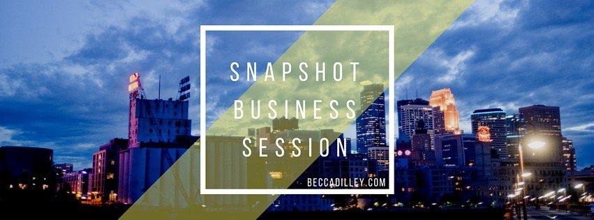 minneapolis photography business mentoring and workshops quick session
