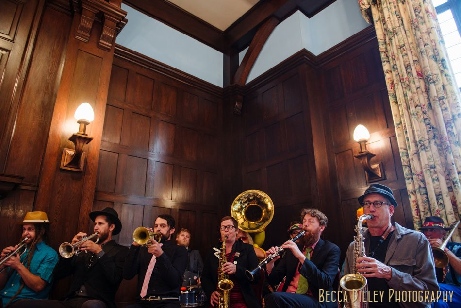 minneapolis club wedding brass band