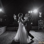 minnesota backyard wedding photographer live band