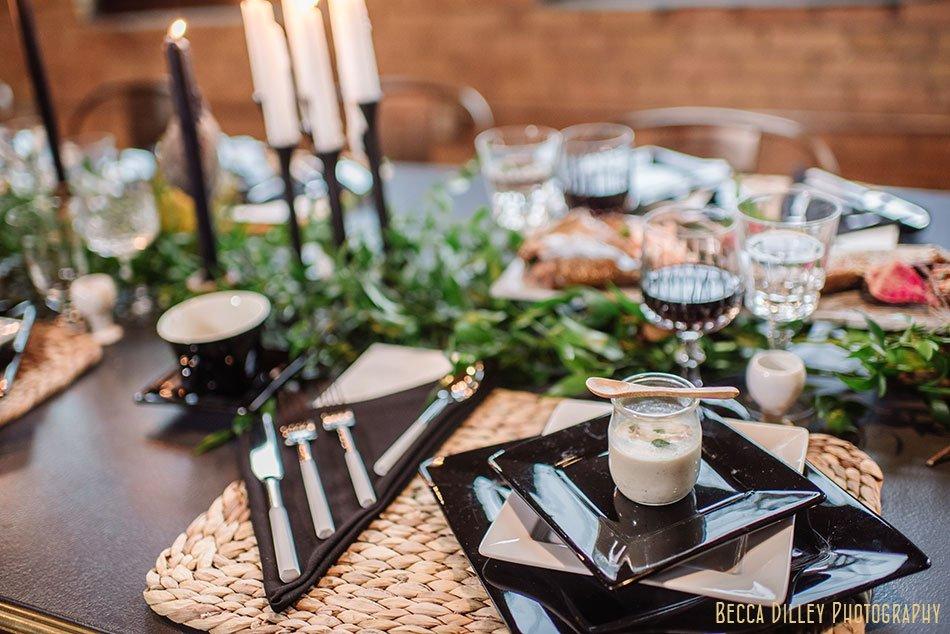 hearten magazine modern Scandinavian dinner photoshoot