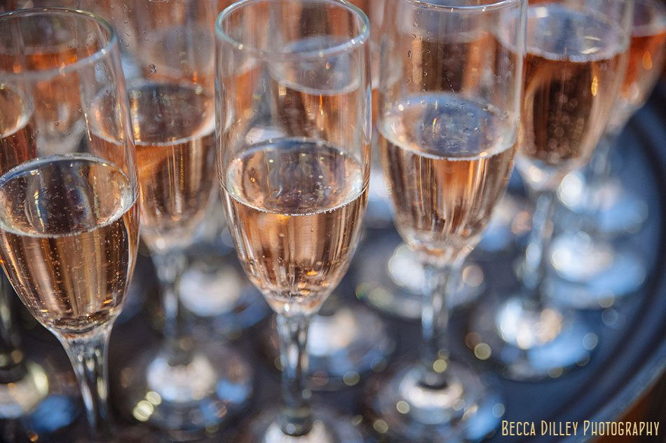 rose champagne for valentines day wedding st paul college club winter wedding mn