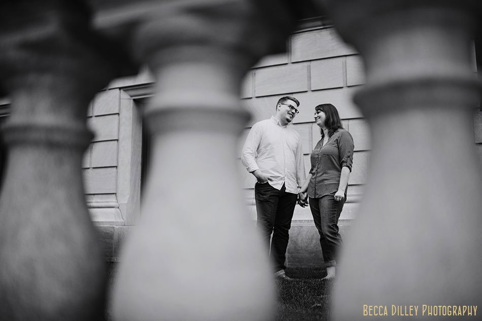 downtown st paul engagement photos at rice park natural