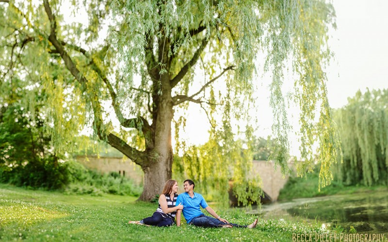 lake phalen engagement photos minnesota wedding photographer