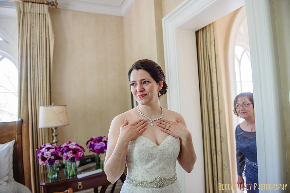 getting ready at mansion hill inn madison wisconsin wedding