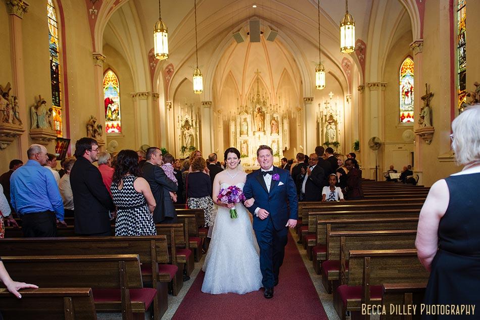 st john the baptist church madison wisconsin wedding
