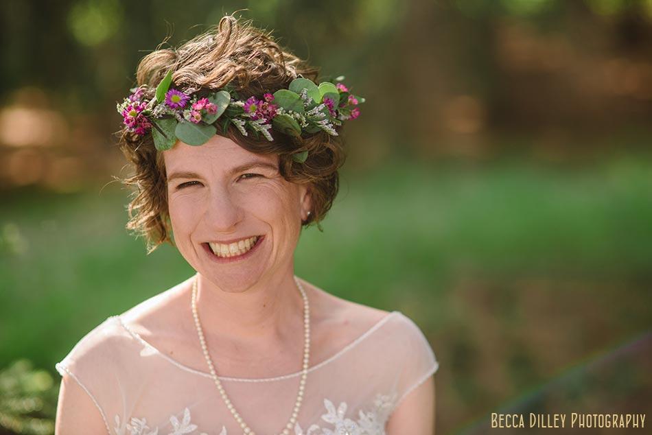 flower crown prairie wedding madison wi