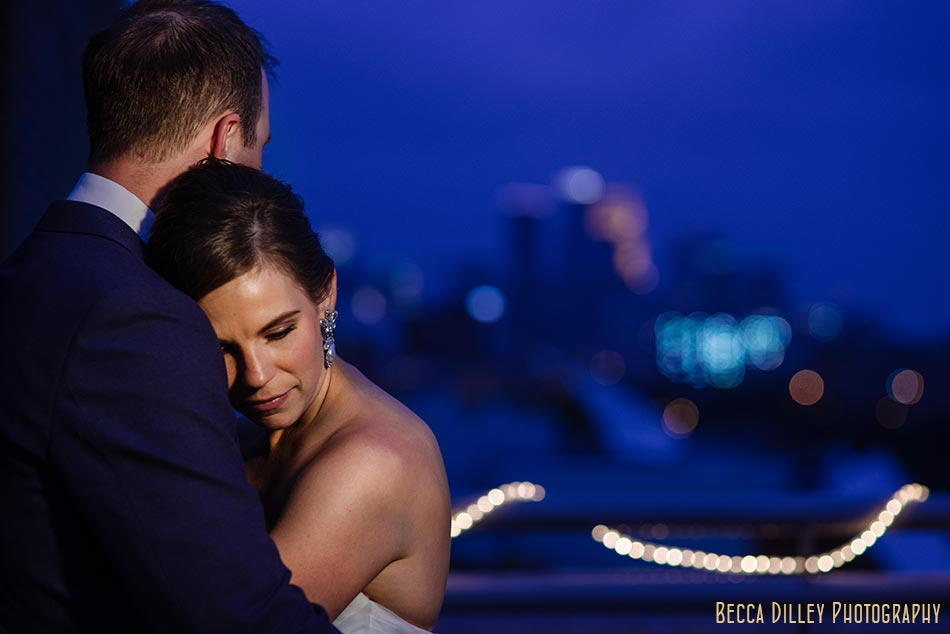 dramatic campus club of mn wedding
