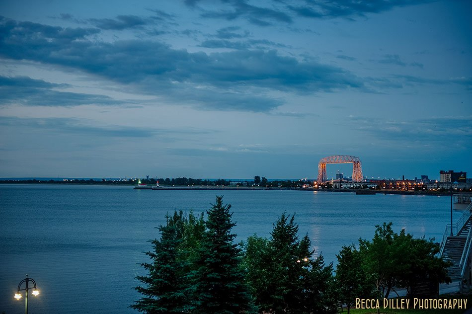 duluth at sunset minnesota editorial photographer book images lake superior flavors