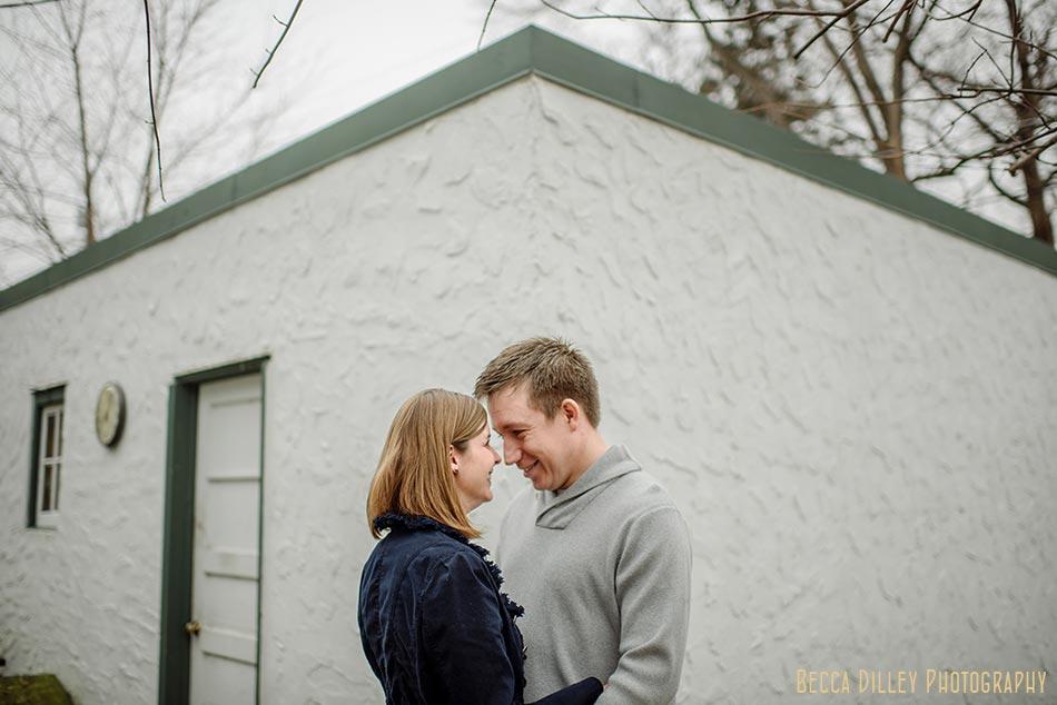 engagement photos at house st paul wedding photographer