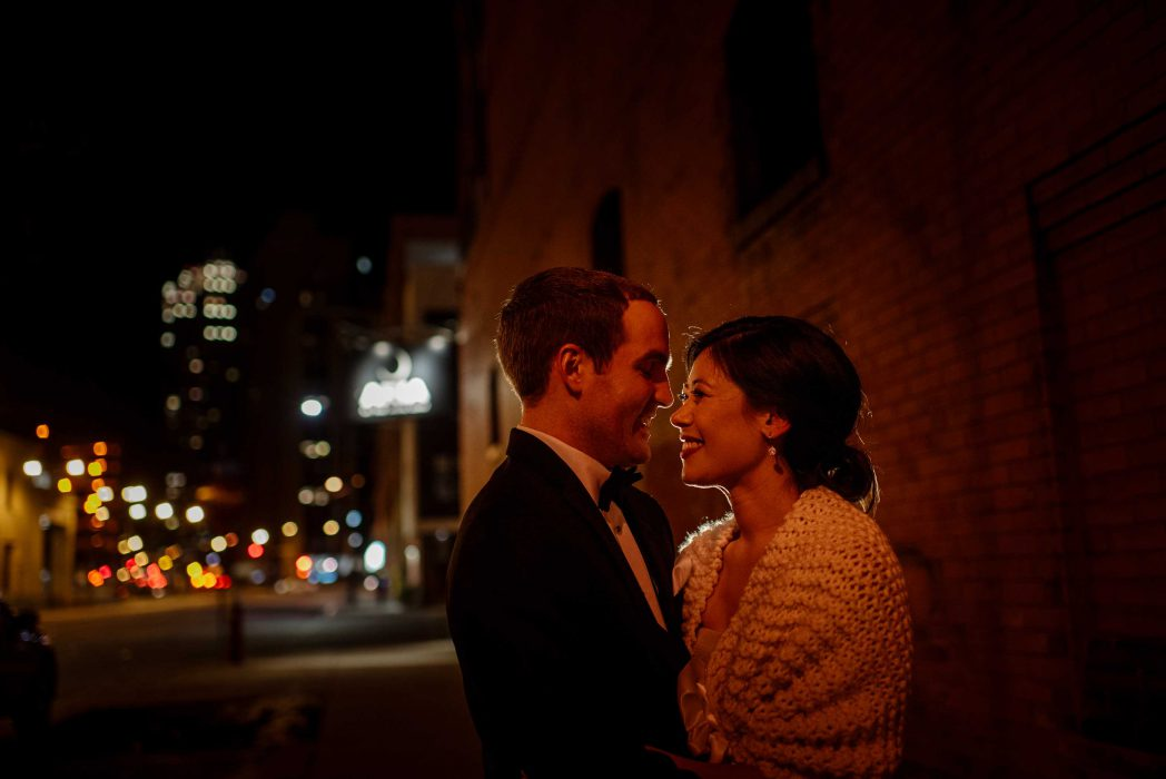 best-minneapolis-wedding-photographer-night in the city