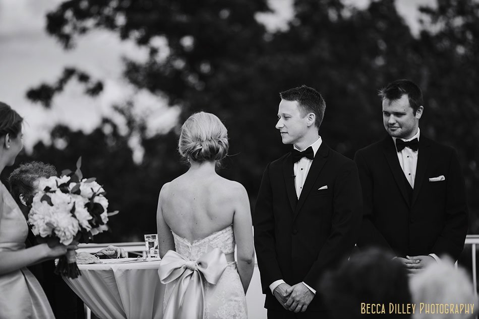 wedding ceremony Minikahda Club wedding minneapolis