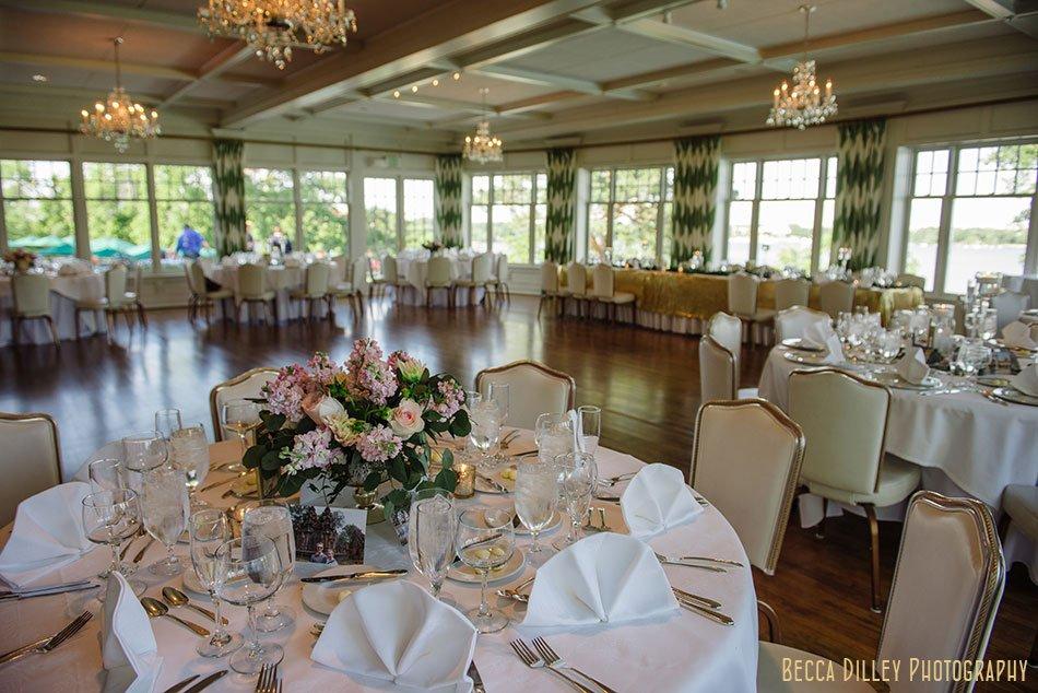 interior for dinner Minikahda Club wedding minneapolis