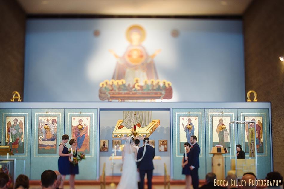 Minneapolis greek orthodox wedding