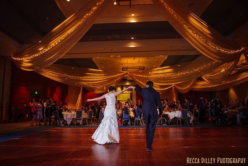 first dance minneapolis orthodox jewish wedding marriot city center
