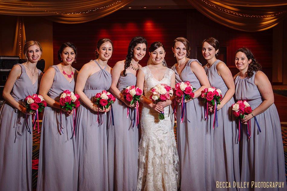 bridesmaids minneapolis orthodox jewish wedding marriot city center