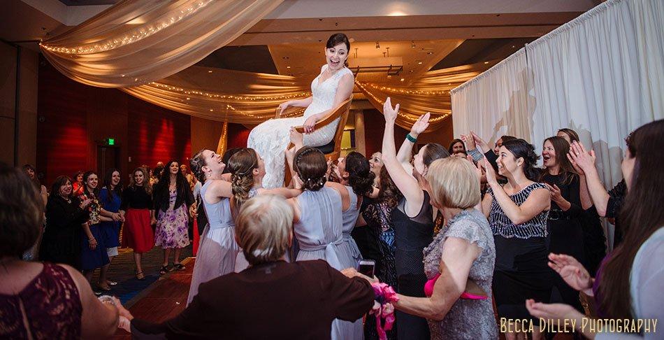 hora minneapolis orthodox jewish wedding marriot city center