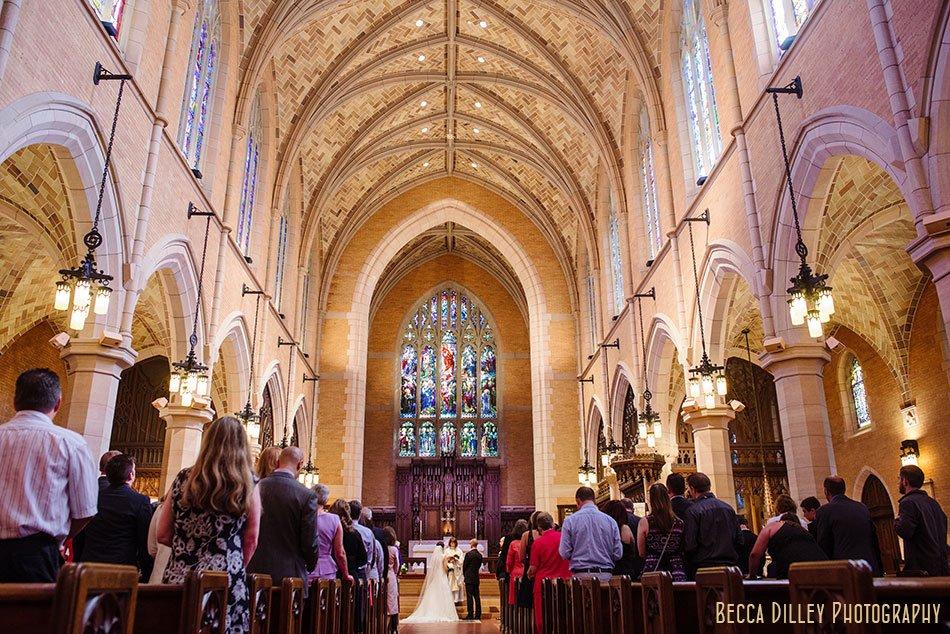 Saint Mark's Episcopal Cathedral wedding minneapolis