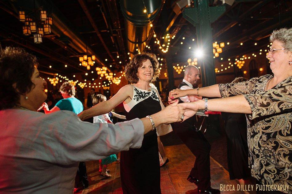 dancing Nicollet Island Pavilion Wedding Minneapolis