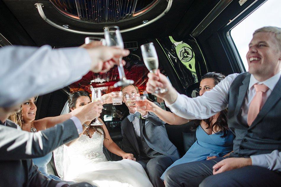 limo ride trellis stillwater mn wedding venue