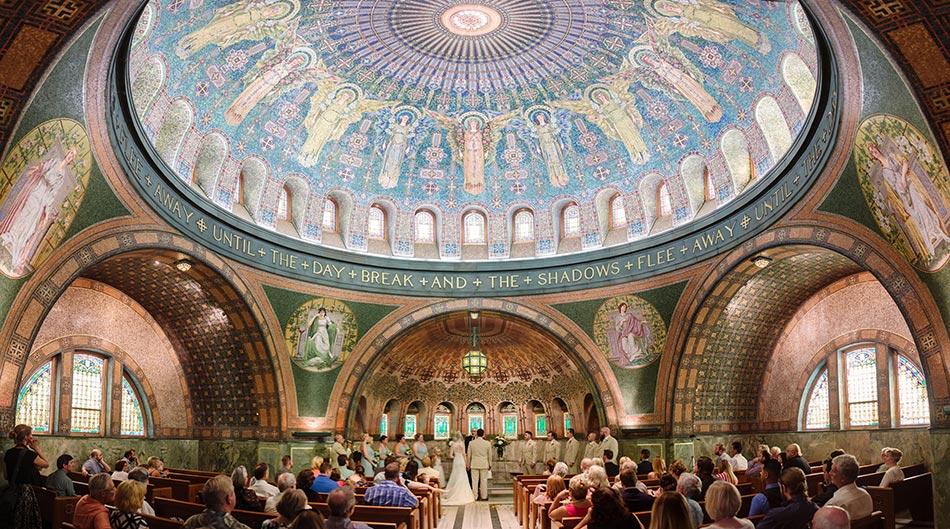 wedding ceremony lakewood chapel wedding minneapolis