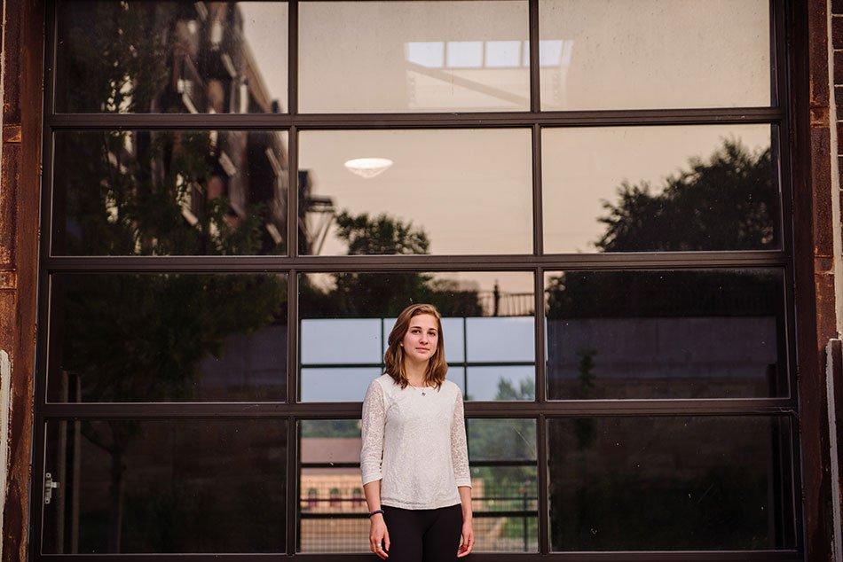 natural senior photos st paul high school grad