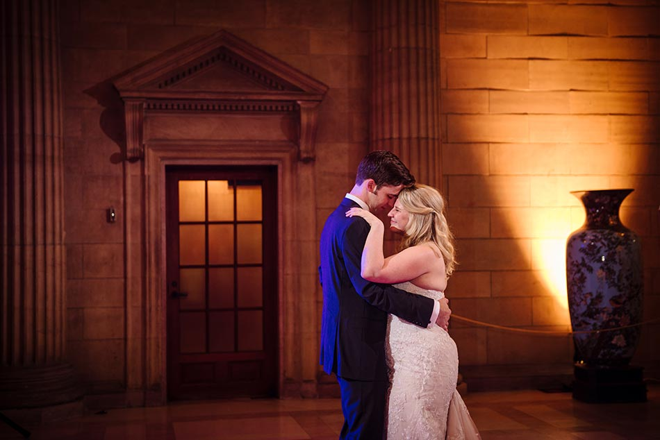 bride and groom dance james j hill library wedding st paul mn photographer