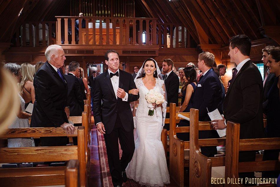 processional wayzata country club wedding mn