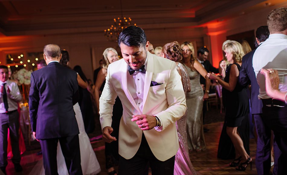 salsa dancing wayzata country club wedding mn