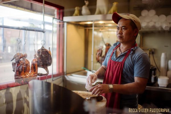 chinese roasted duck editorial food photographer mn university ave st paul