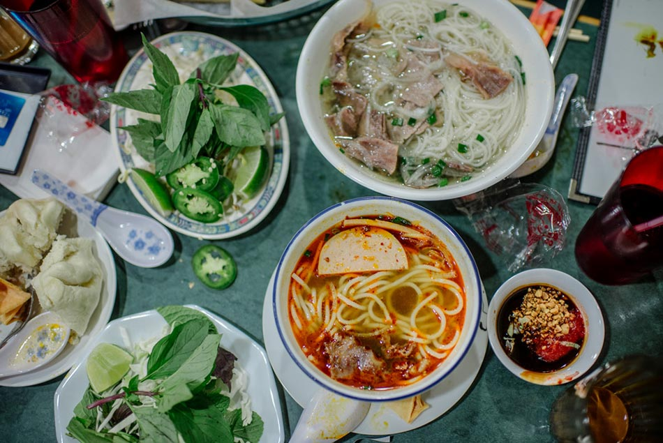 pho Food Editorial Photography MN