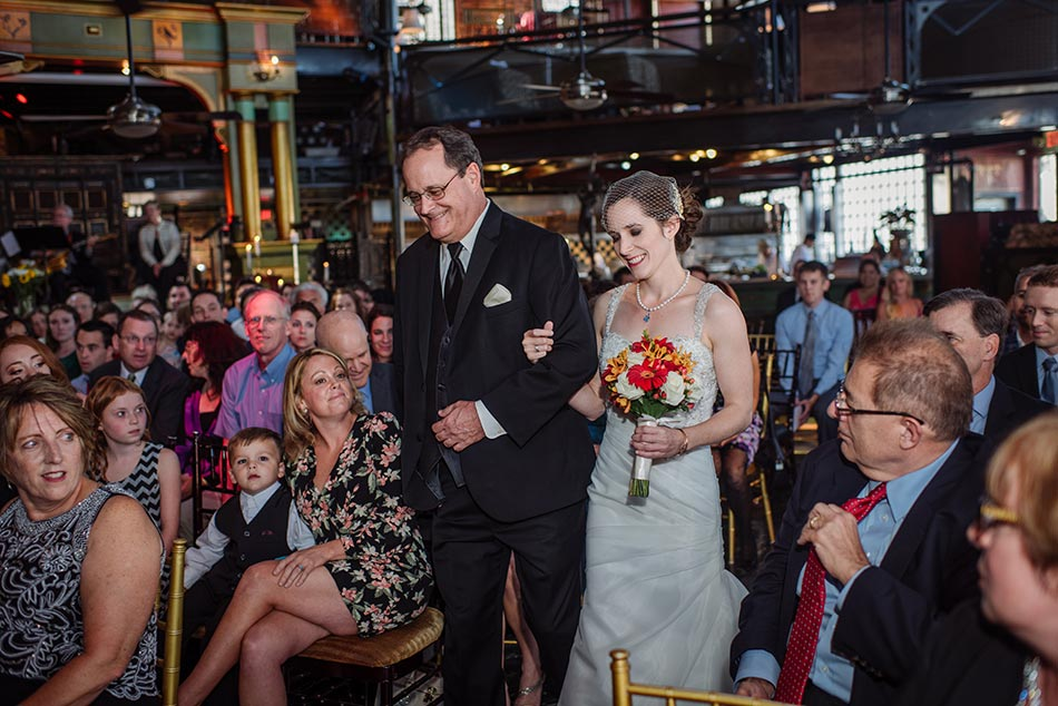 ceremony at loring minneapolis wedding varsity theater photographer