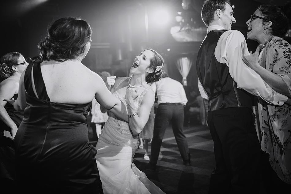 bride laughing minneapolis wedding varsity theater photographer