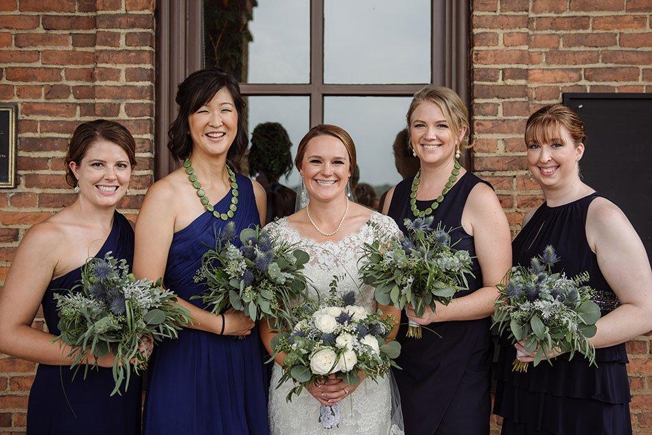 bridesmaids Stillwater Historic Courthouse Wedding mn