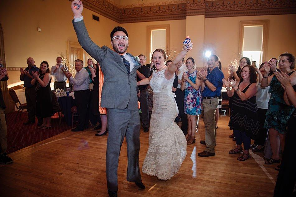 first dance Stillwater Historic Courthouse Wedding mn