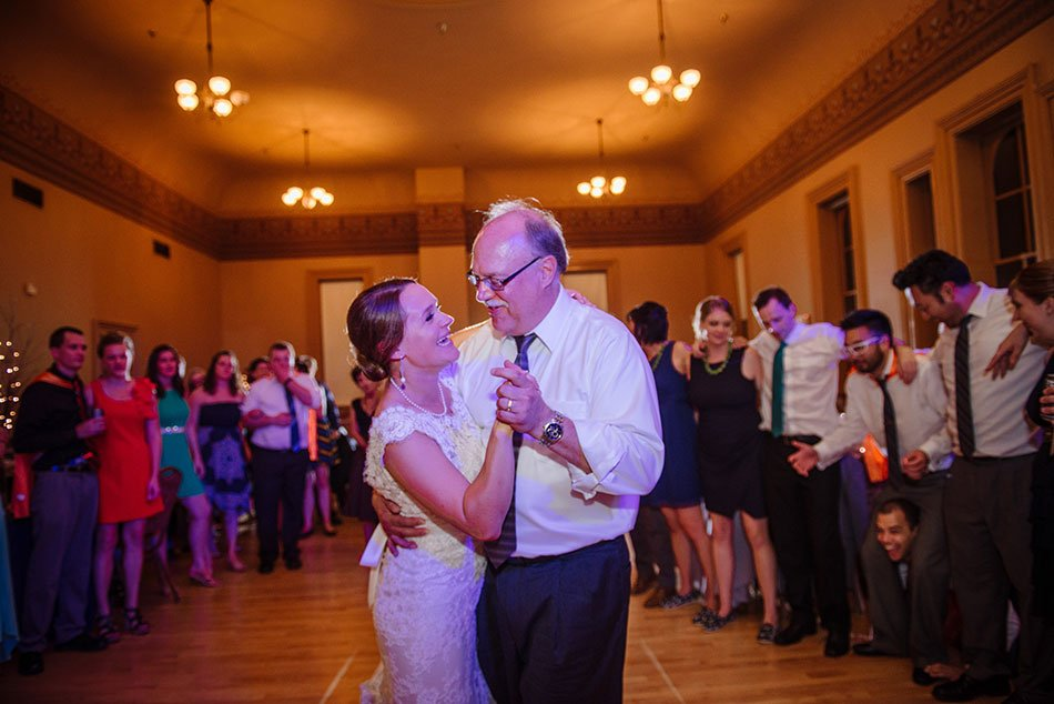 father daughter dance Stillwater Historic Courthouse Wedding mn