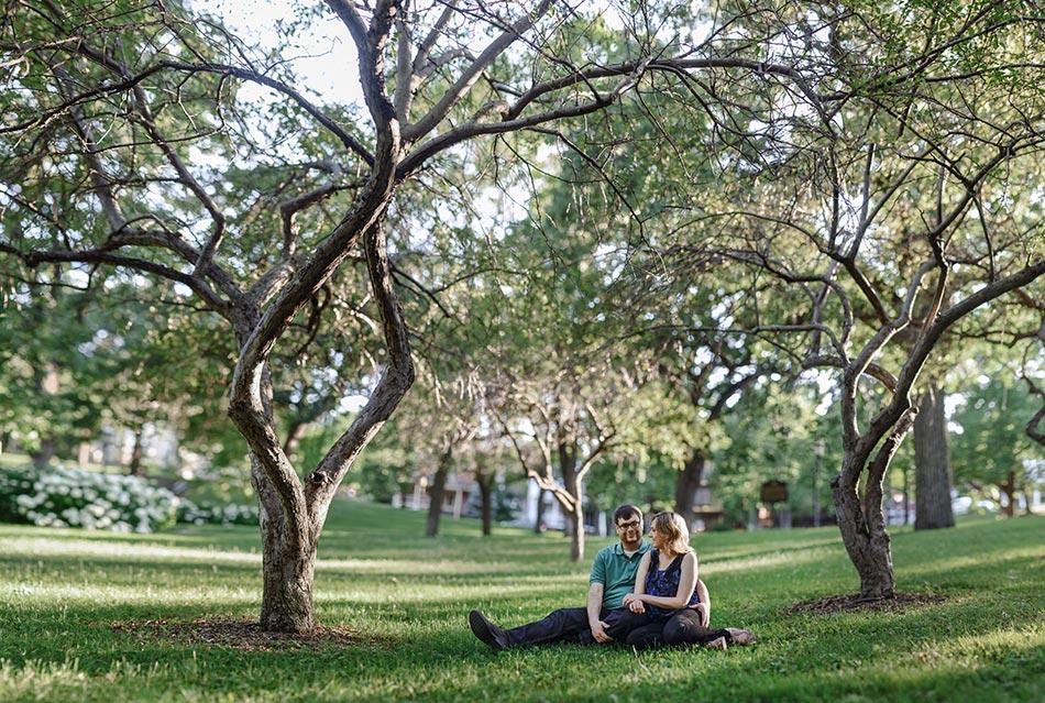 Engagement Photos in St Paul Parks