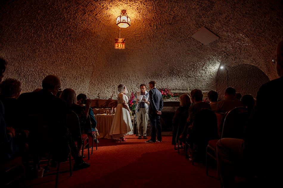 ceremony wabasha street caves wedding st paul mn