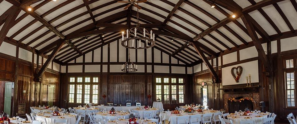 interior Theodore Wirth Wedding Minneapolis