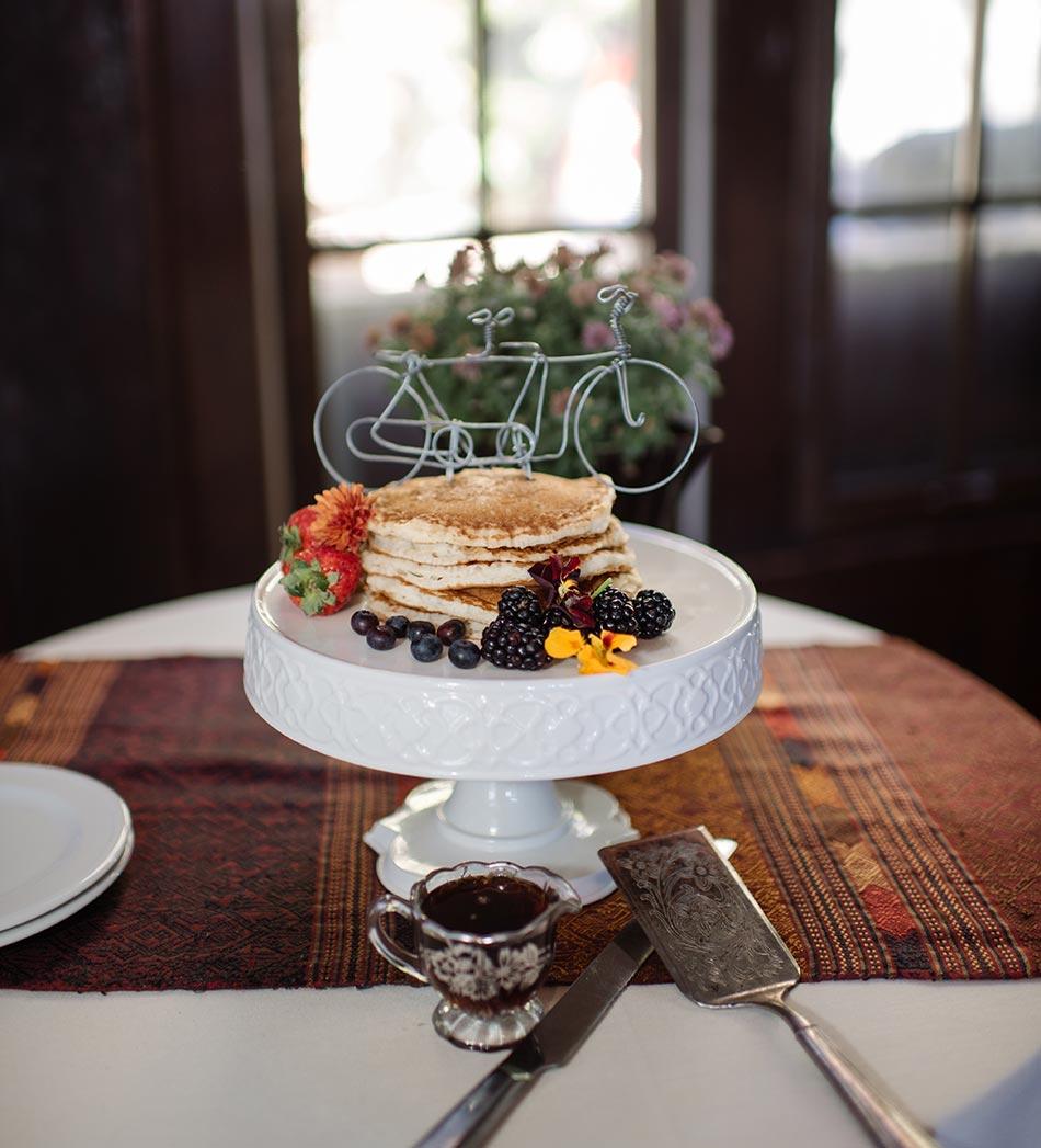 wedding pancakes Theodore Wirth Wedding Minneapolis