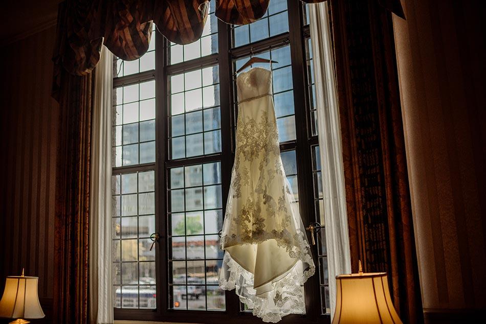 dress Wedding at Minneapolis Club