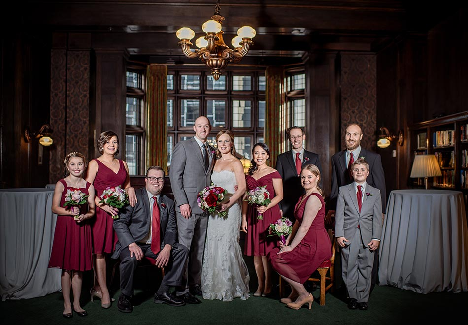 flash composite Wedding at Minneapolis Club