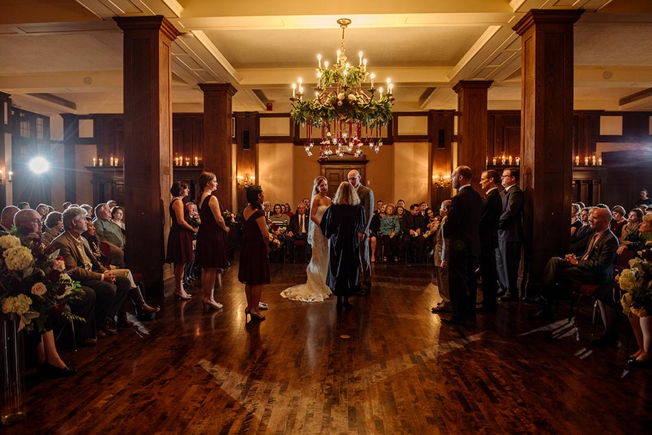 ceremony Wedding at Minneapolis Club