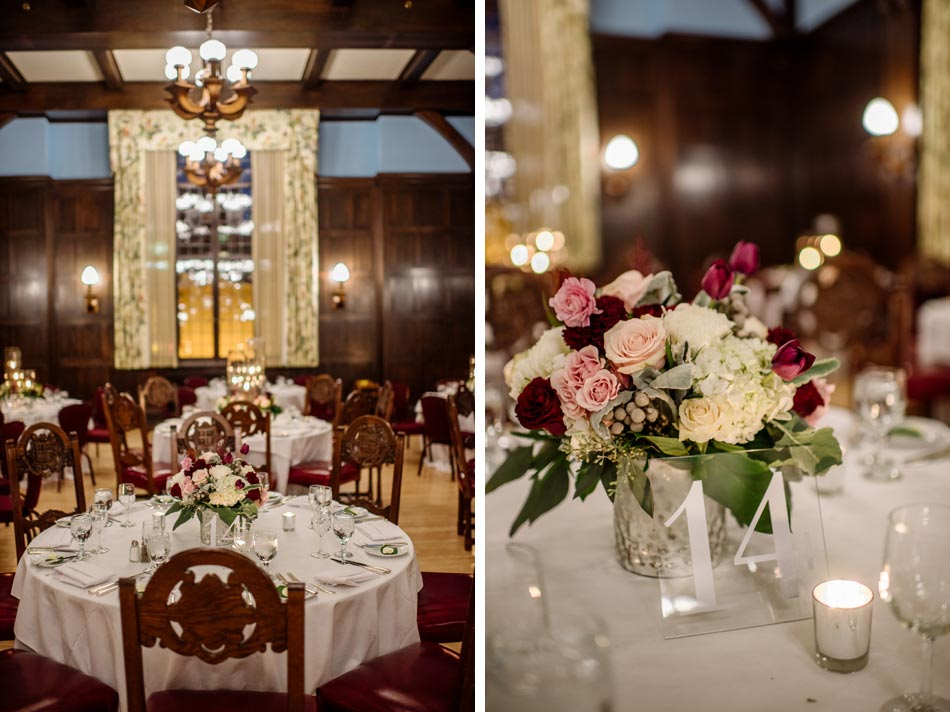 dinning room Wedding at Minneapolis Club