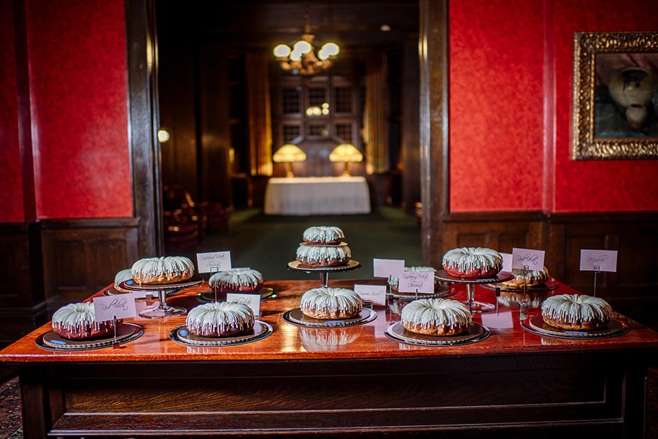 bundt cakes Wedding at Minneapolis Club