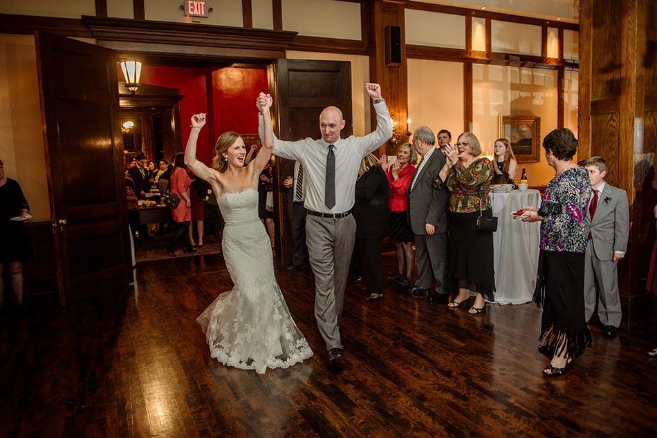 reception Wedding at Minneapolis Club