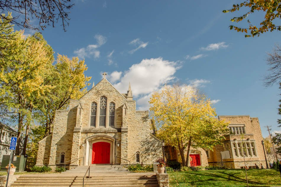 St Lukes Episcopal church wedding minneapolis
