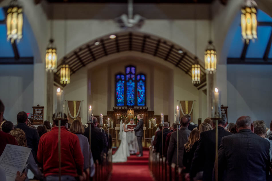 ceremony St Lukes Episcopal church wedding minneapolis