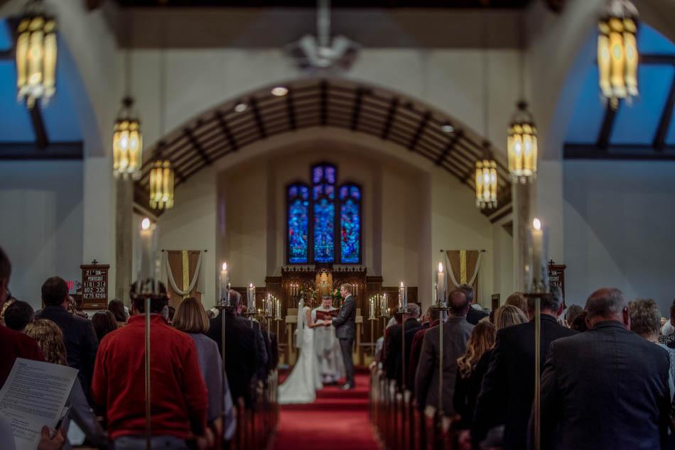 ceremony St Lukes Episcopal church wedding minneapolis
